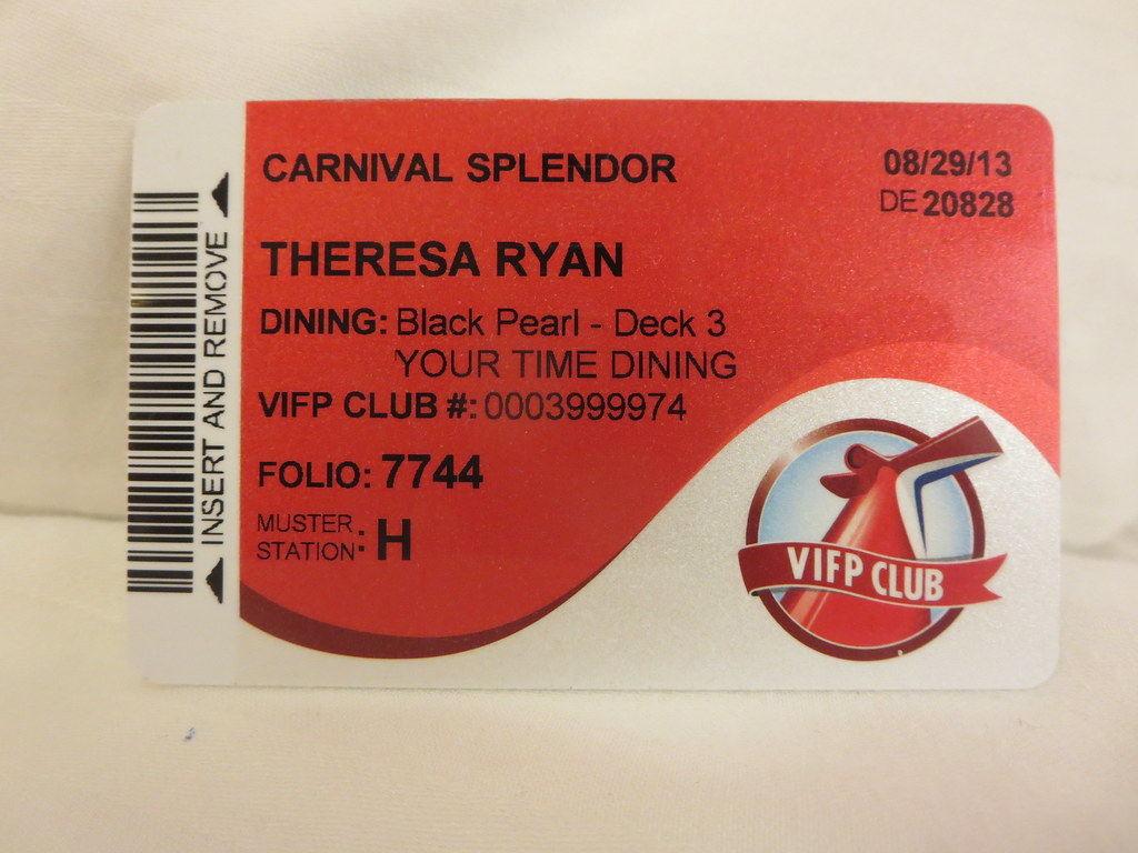 Sail And Sign Card For Carnival Splendor Cruise Ship To Th  Flickr