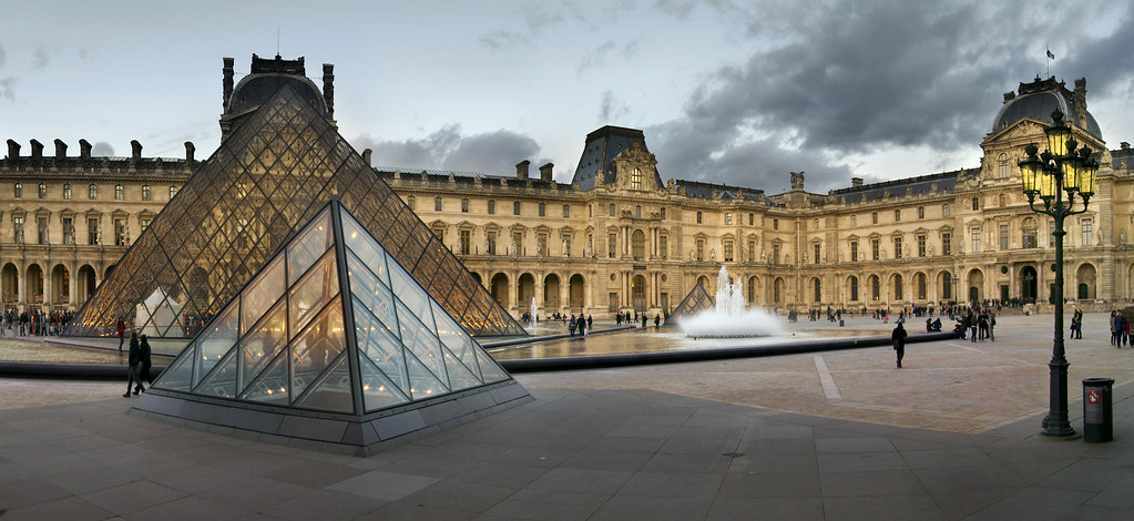 Le louvre ii explore teolc eniger flickr for Les architectures