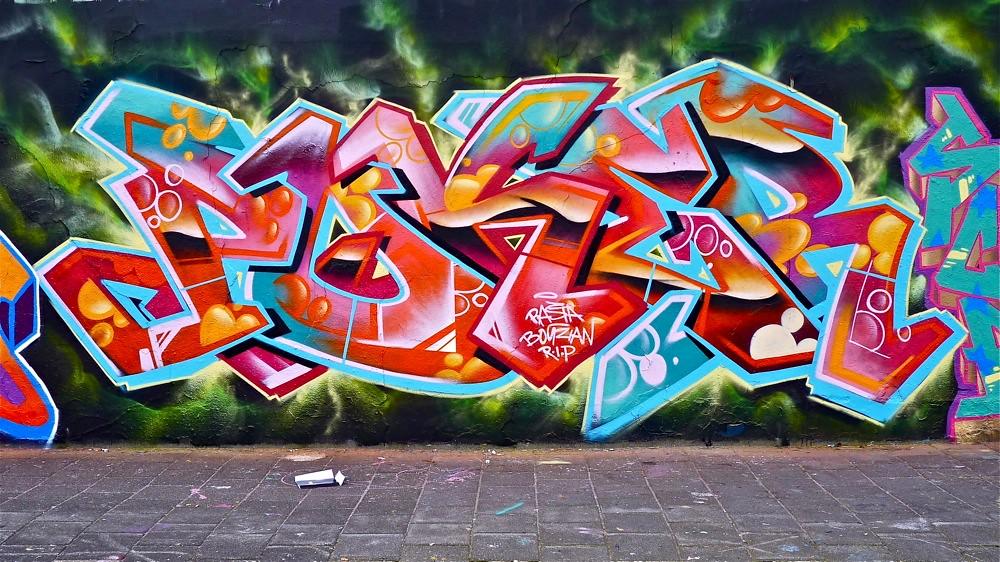 Delft Graffiti - RASTA | Akbar Sim | Flickr