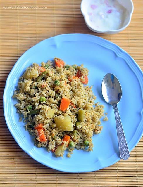 Veg pulao recipe Karnataka