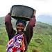 Woman farmer in Uganda