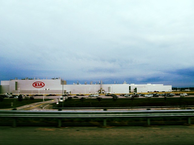 kia plant in west point georgia flickr photo sharing. Black Bedroom Furniture Sets. Home Design Ideas