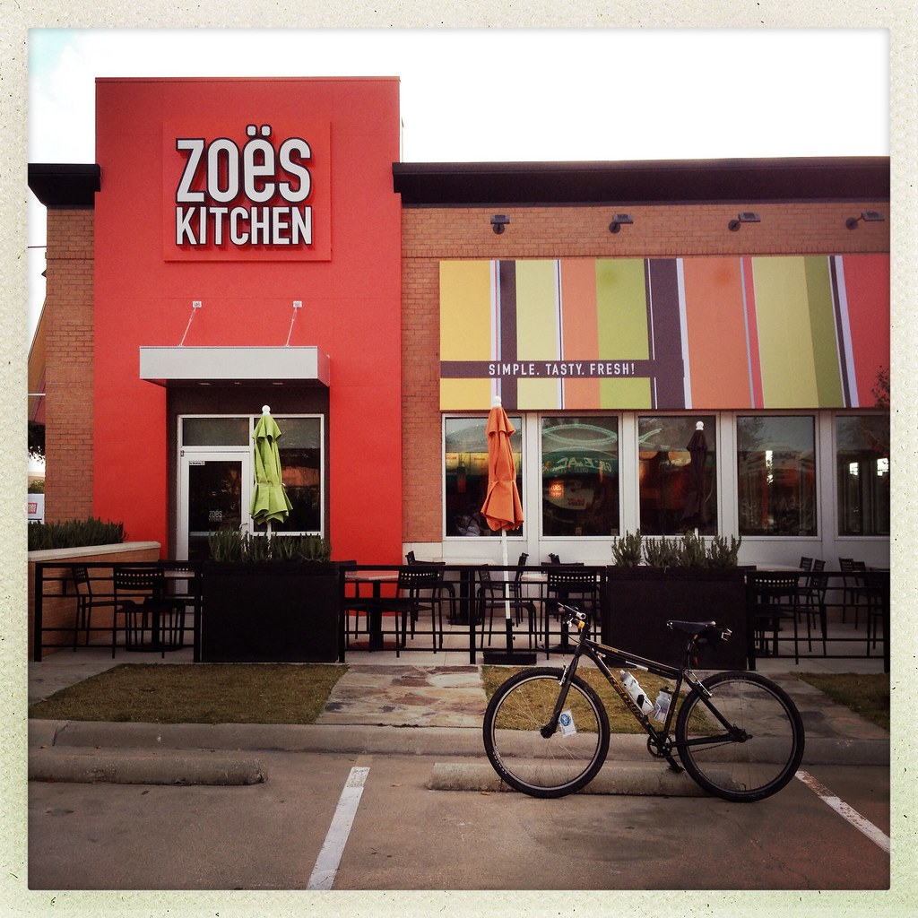 Zoes Kitchen The Woodlands Menu
