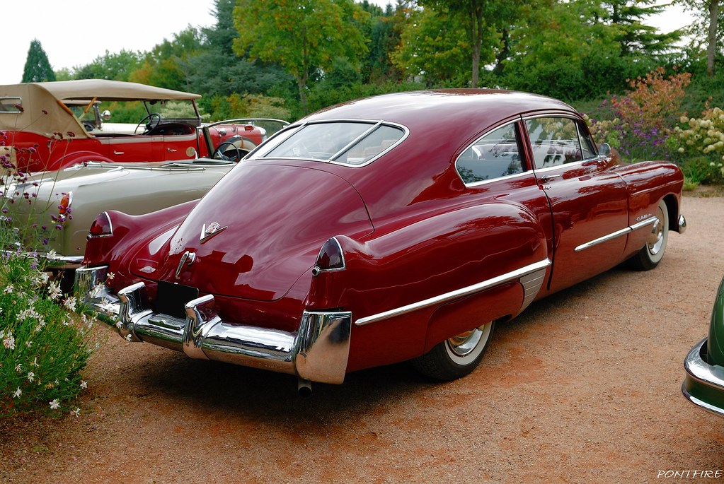 1948 Cadillac 62s Club Coupe Sedanette 47e Rallye Paris