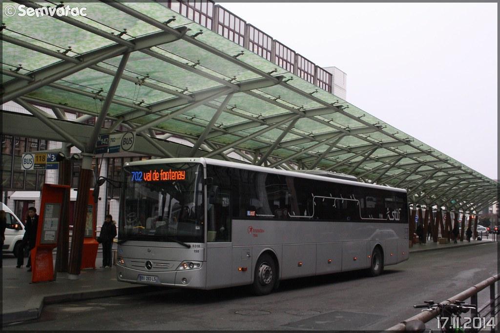 mercedes intouro transdev les autobus du fort tra t flickr. Black Bedroom Furniture Sets. Home Design Ideas