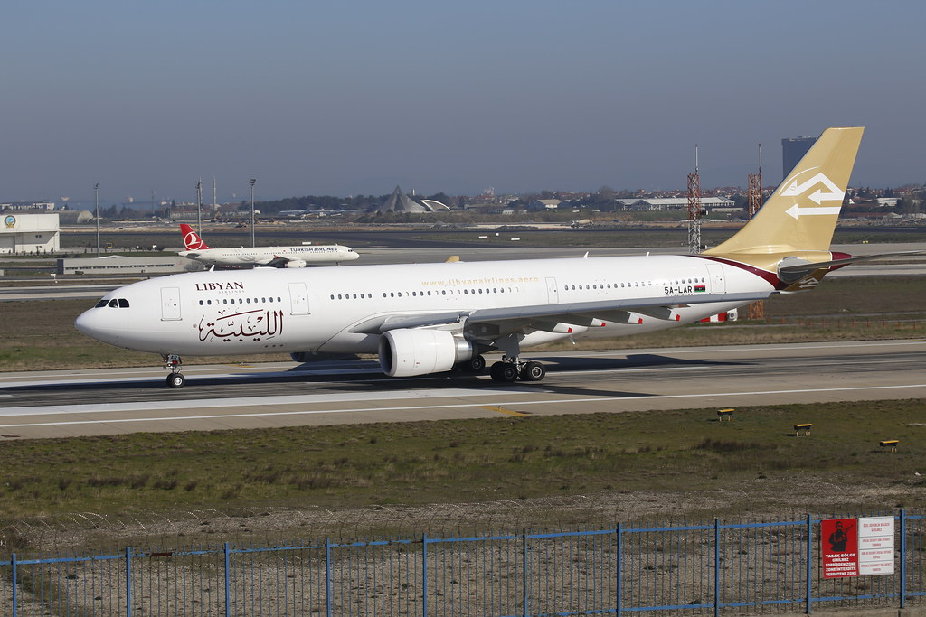5A-LAR Lybian Airlines - Airbus A330