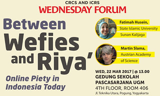 Between Wefies and Riya' (Online Piety in Indonesia Today)