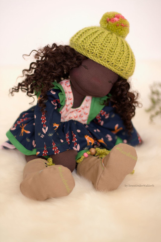 Willow - 16 inch Natural Fiber Art Doll by Down Under Waldorfs
