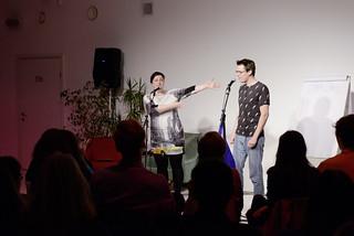 Mieze Medusa, Markus Köhle, textstrom Poetry Slam