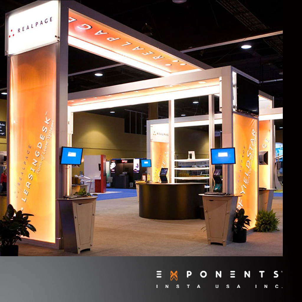 Exhibition Displays : Modular exhibition stand real page exponents