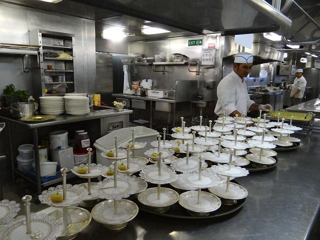 Silversea Silver Whisper Cruise Ship - Kitchen Galley ...