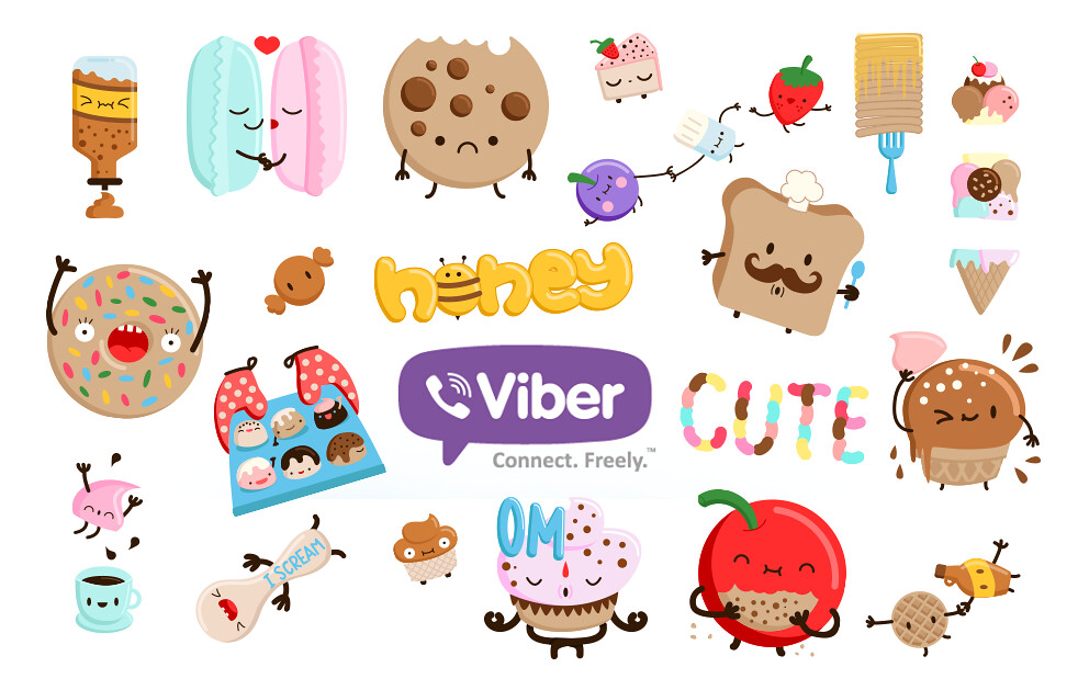 sugar rush stickers for viber / elebea | Sasa Elebea | Flickr