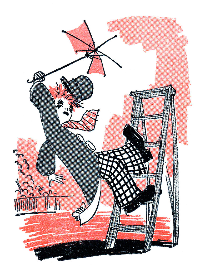 Image result for Image of  a clownfalling off a ladder