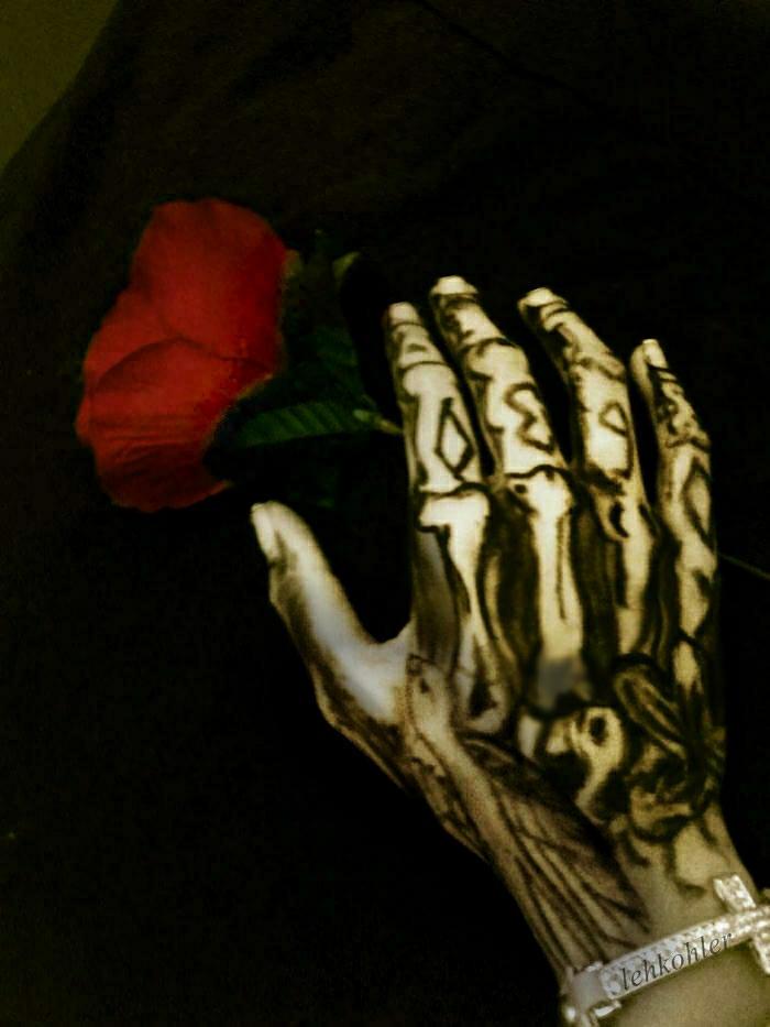 Bill Kaulitz Hand Tattoo Leh K 246 Hler Bill Kaulitz Cosplay Flickr