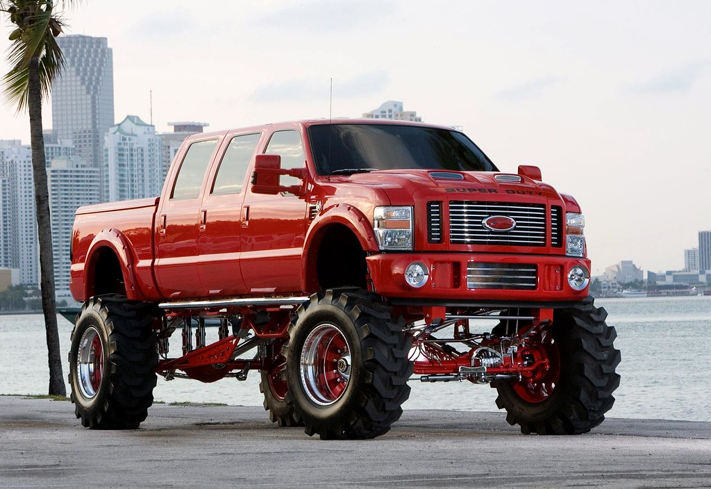 lifted and customized trucks realtruck com flickr. Black Bedroom Furniture Sets. Home Design Ideas