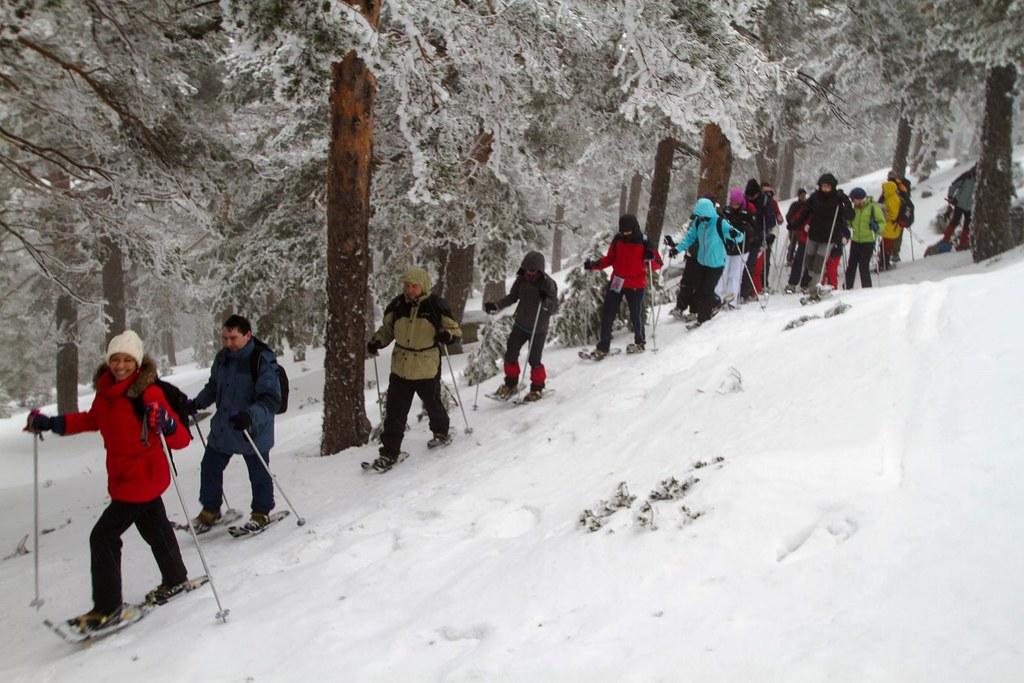 rutas nieve