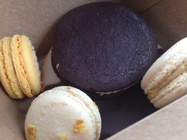 Macarons from Fluff Bake Bar, Houston