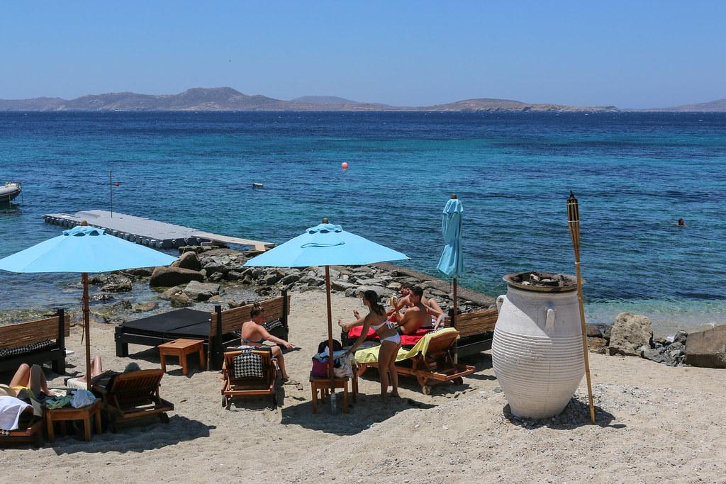 Best Island Beaches For Partying Mykonos St Barts: Agios Ioannis Beach, Mykonos, Greece