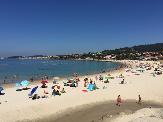 Playa de Areas (Sanxenxo, Galicia)