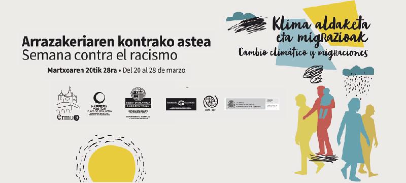 Cartel anunciador de la Semana Contra el Racismo y la Xenofobia