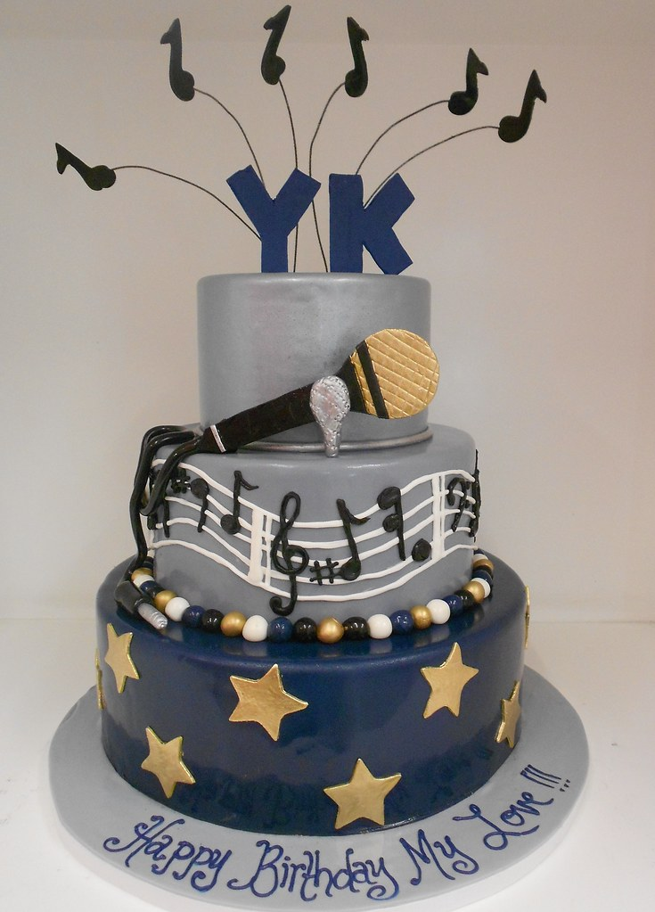 Birthday Cake Ideas Music : Music theme birthday cake (1962) www.asweetdesign.info ...