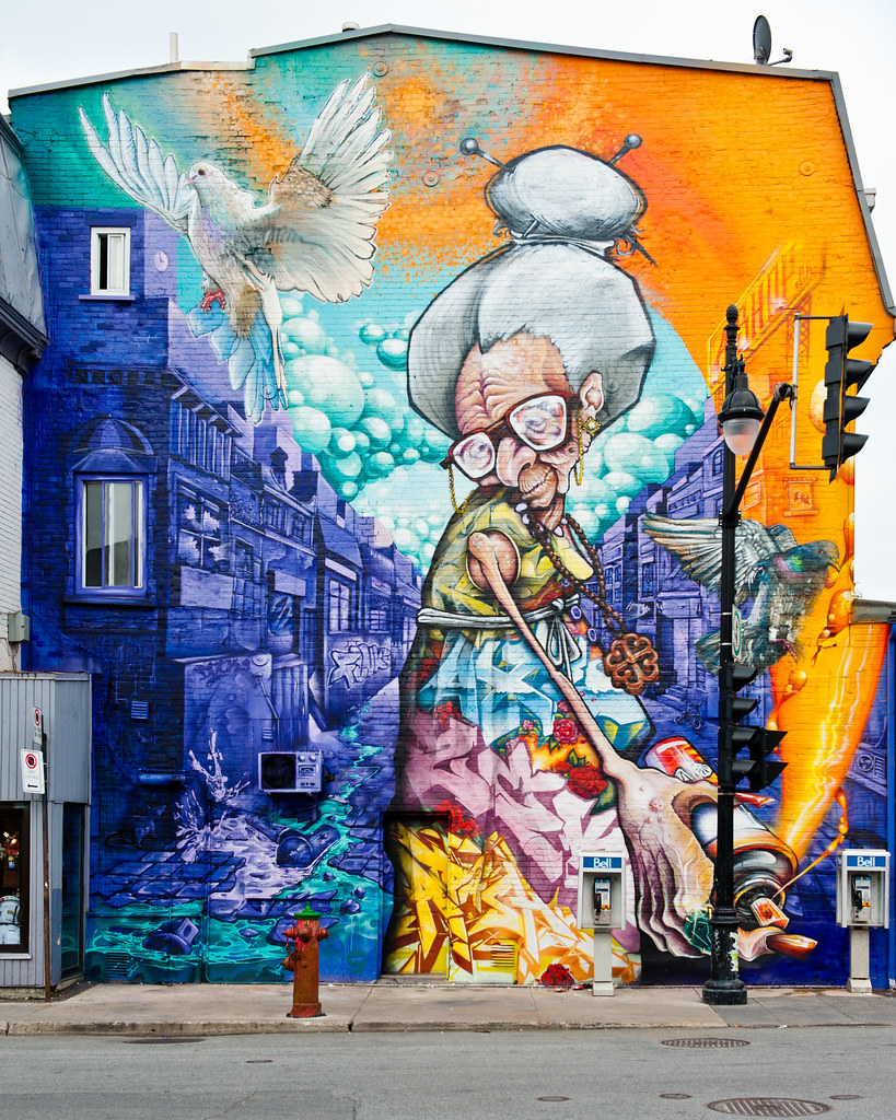 Montreal mural festival 2013 a 39 shop 1 street art from for Art mural montreal