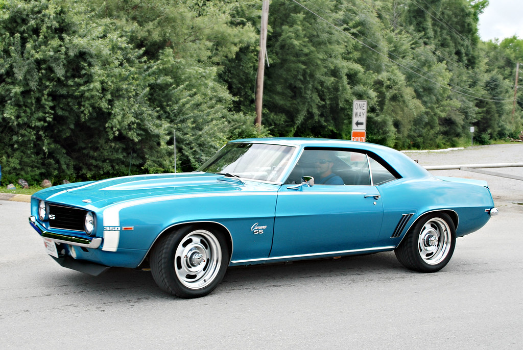 2006 Chevy Camaro >> 1969 Chevy Camaro SS 350 Blue | SpeedProPhoto | Flickr