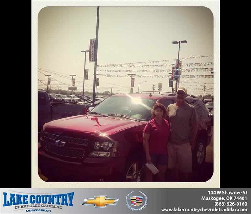 Jones Cadillac: Thank You To Tanya Jones On The 2012 Chevrolet Tahoe From …