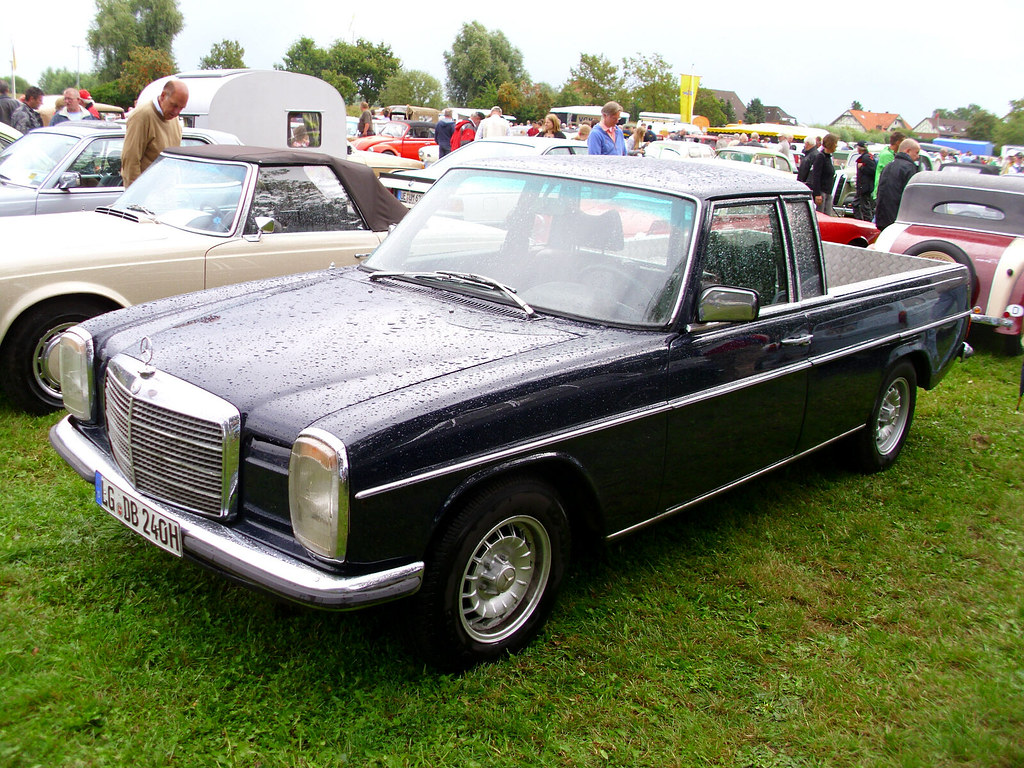 mercedes benz 240d pick up conversion bleckede 2013 of flickr. Black Bedroom Furniture Sets. Home Design Ideas