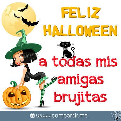 Frases de amor Imágenes con frase Feliz Halloween para el Facebook