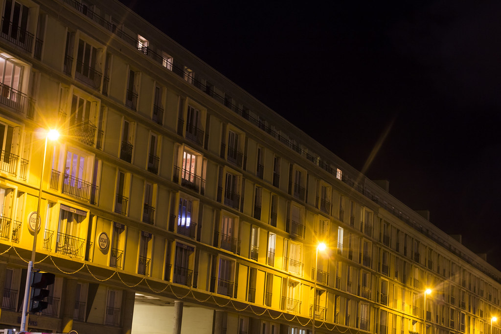 Le havre de nuit baptiste gar on flickr for 3d architecture le havre