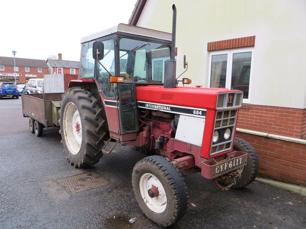 International Harvester 684 Tractor : International harvester very pleased to see
