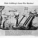 1943 ... Rube Goldberg war machine!