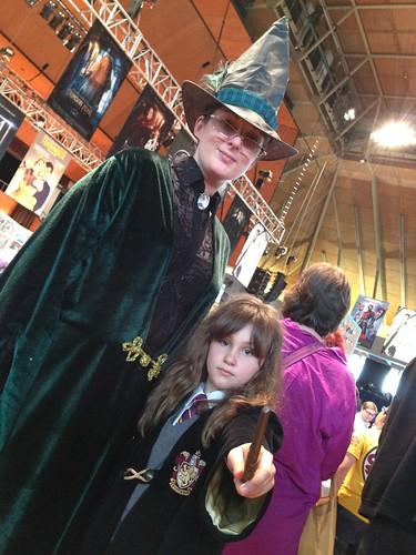 Preston Comic-Con 2015 - Professor McGonagall and Hermione Granger