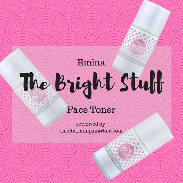 Emina the bright stuff face toner