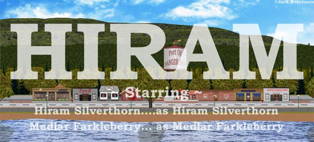 HIRAM Banner ©Jack Boardman
