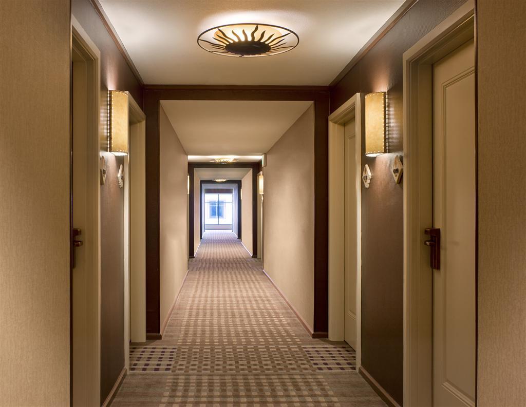 Hotel Guest Room Corridors