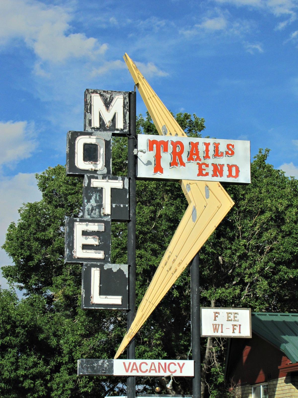 Trails End Motel - 616 East Main Street, Trinidad, Colorado U.S.A. - July 26, 2012