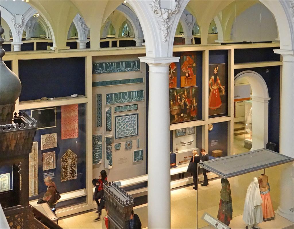Les arts de l'Islam au Victoria and Albert Museum (Londres ...