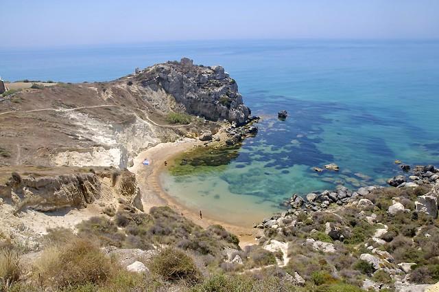 cala paradiso licata sicilia flickr photo sharing