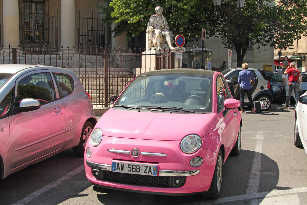 place de verdun fiat 500 aix en provence france flickr. Black Bedroom Furniture Sets. Home Design Ideas