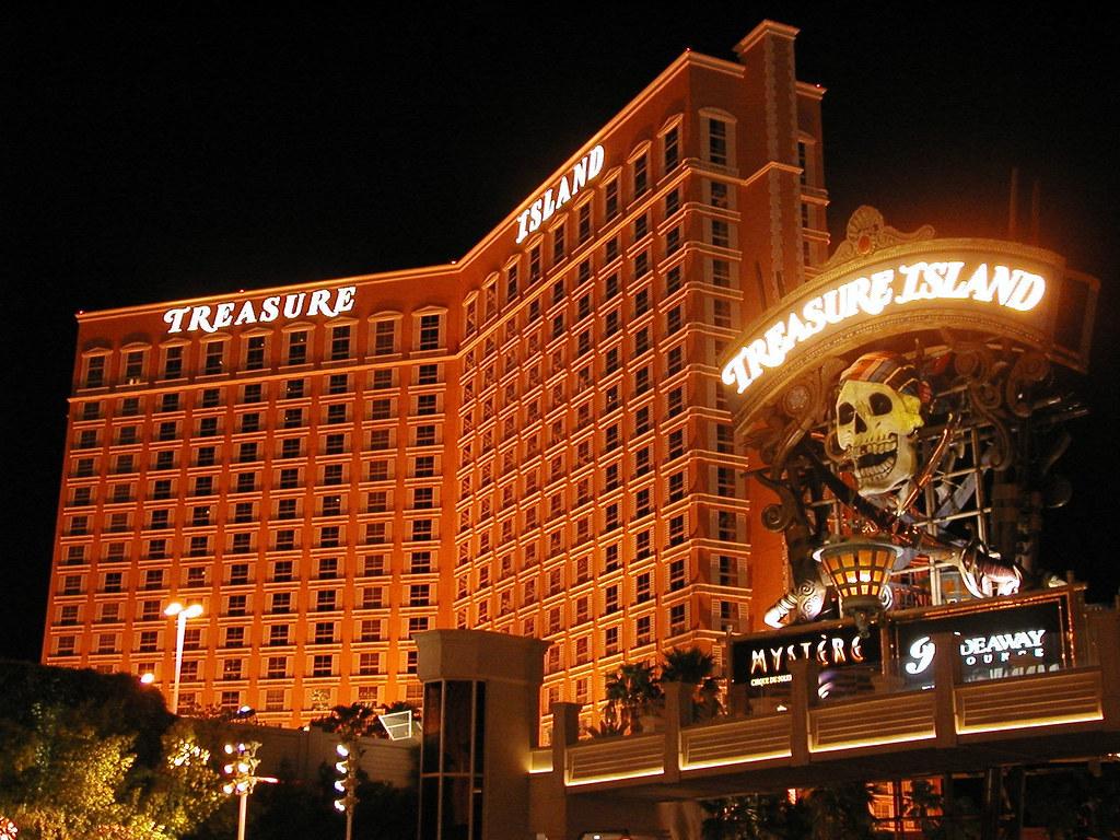 Treasure Island Las Vegas Arcade For Kids