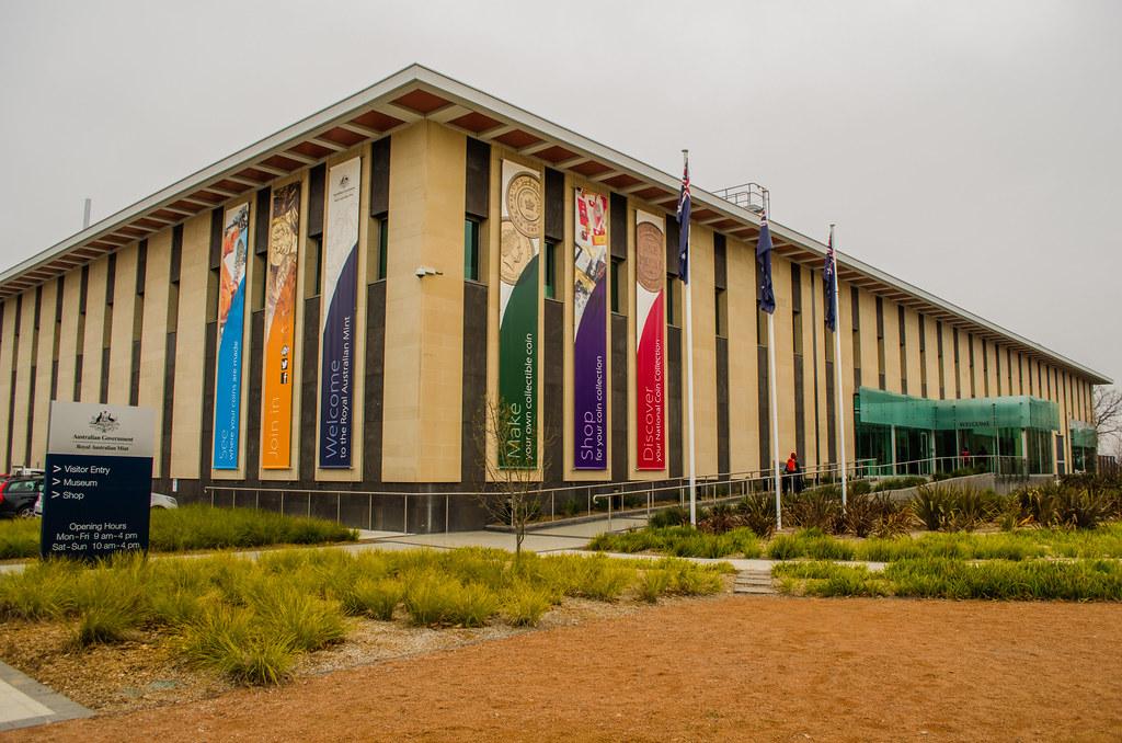 Royal Australian Mint Canberra Simon Yeo Flickr