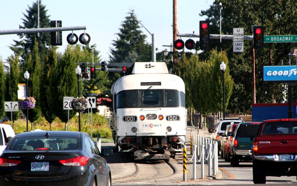 Wes Commuter Rail A Portland Wes Commuter Rail Train