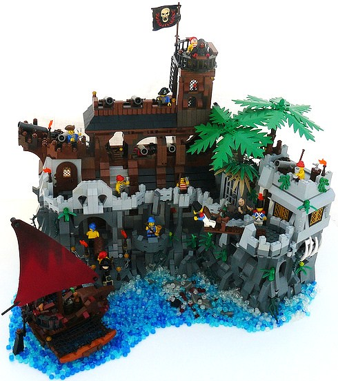 MOC LEGO PIRATES | Bastosdumdum | Flickr Lego