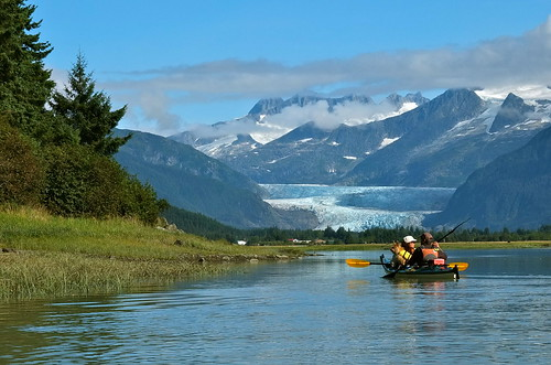 Toward Mendenhall Glacier