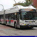 Akron Metro RTA New Flyer XN60 Articulated bus #6003