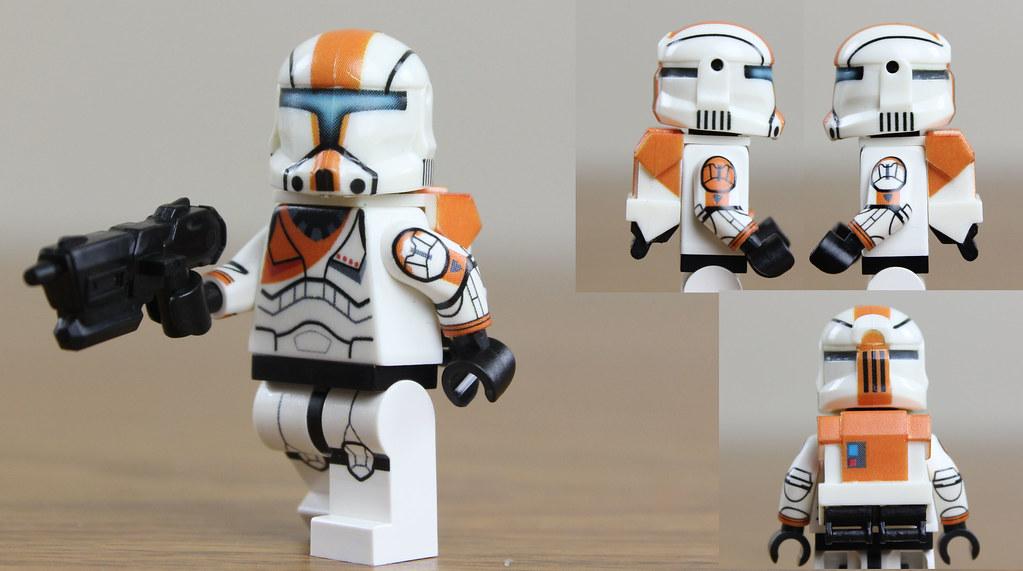 Custom Lego Star Wars Clone Commandos Custom Lego Clone Commando