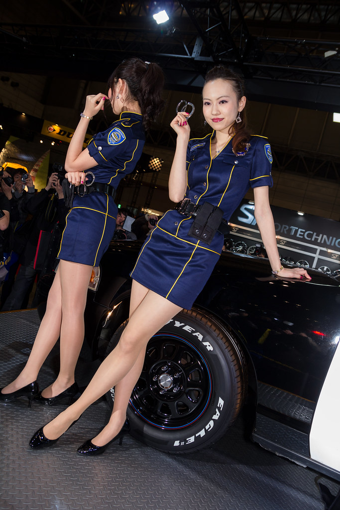 Goodyear tokyo auto salon 2014 show girl makuhari chiba flickr - Tokyo motor show 2014 ...