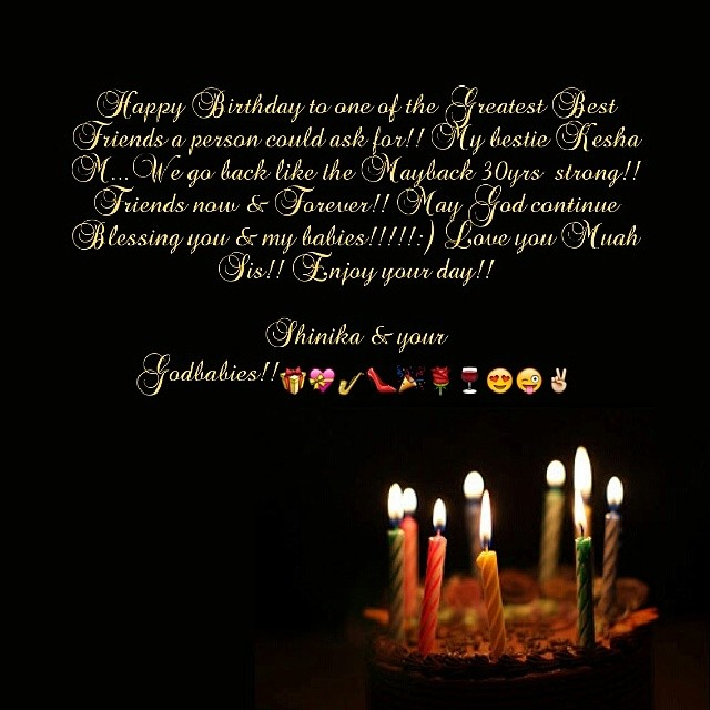 Screaming Happy Birthday To My Sissy/friend Forever Kesha